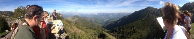 Stunning views in the Covadonga National Park, Los Picos de Europa